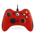 Nacon Controller Gaming GC-100 USB Cablato Gamepad Nero,Rosso