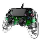 Nacon PS4OFCPADCLGREEN PS4 Verde, Trasparente Cablato