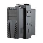 NEWSTAR NM-CPU100BLACK supporto per CPU Desk-mounted CPU holder Nero