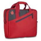 "NGS Ginger Red borsa per notebook 15.6"" Valigetta ventiquattrore Antracite, Rosso"