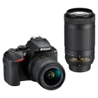 Nikon D5600 + AF-P 18-55 VR + AF-P 70-300 VR + SD 16GB