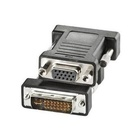 Nilox CRO12033105 cavo di interfaccia e adattatore DVI-I VGA Nero