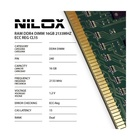 Nilox DDR4 16GB 2133MHZ ECC REG CL15