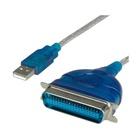 Nilox NX080500102 cavo di interfaccia e adattatore USB 2.0 IEEE 1284 Blu