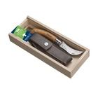 Opinel Pencil Case N°08 Mushroom + sheath Camper/Scout Legno