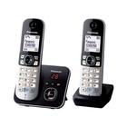 Panasonic KX-TG6822JTB telefono Telefono DECT Nero, Grigio Identificatore di chiamata