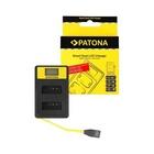 Patona Caricabatteria DUAL USB per LP-E12