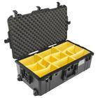 Peli Air Case 1615 – valigia nera con divisori imbottiti riposizionabili