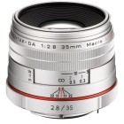 Pentax HD DA 35mm f/2.8 Macro Limited Edition Silver
