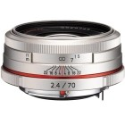 Pentax HD DA 70mm f/2.4 Limited Edition Silver