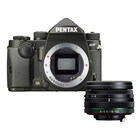 Pentax KP + 18-50mm f/4-5.6 Nero HD DC WR RE