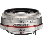 Pentax HD DA 21mm f/3.2 AL Limited Edition Silver