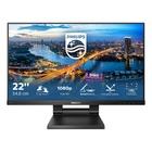 """Philips B Line 222B1TC/00 Touch 21.5"""" FullHD Nero"""