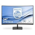 """Philips E Line 241E1SCA/00 23.6"""" Full HD LCD Curvo 75hz Nero"""