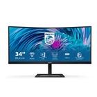 """Philips E Line 346E2CUAE/00 34"""" Wide Quad HD+ LCD Nero"""