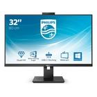 """Philips P Line 326P1H/00 LED 80 cm (31.5"""") 2560 x 1440 Pixel Quad HD Nero"""