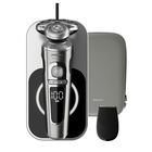 Philips SP9861/13 rasoio elettrico Rotazione Trimmer Nero, Metallico