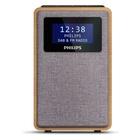 Philips TAR5005/10 radio Orologio Digitale Grigio, Legno