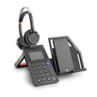 Plantronics POLY ELARA 60 WS + VOYAGER 5200 Cuffie con Microfono Bluetooth Nero