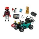 Playmobil City Action Quad del bandito