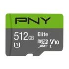 PNY Elite 512 GB MicroSDXC Classe 10 UHS-I