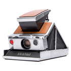 Polaroid SX-70 - Silver-Brown