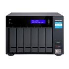 QNAP TVS-672X-I3-8G Tower LAN Nero i3-8100T
