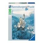 Ravensburger Neuschwanstein d'inverno 1500Pz