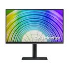 "Samsung S24A600UCU 24"" 2K Wide Quad HD LCD Nero"