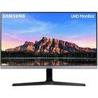 """Samsung U28R550UQR 28"""" 4K Ultra HD LED Blu, Grigio"""