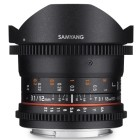 Samyang 12mm t/3.1 VDSLR Fish-eye Fuji X