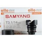 Samyang 14mm t/3.1 VDSLR ED AS IF UMC Nikon Usato