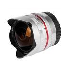 Samyang 8mm f/2.8 UMC Fish-eye II Fuji X Silver