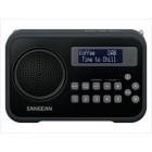 Sangean DPR-67 LCD Digitale portatile Nero