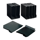 Sei rota 671440 Scatola per la conservazione di documenti Cartoncino, PVC Nero