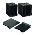 Sei rota 671465 Scatola per la conservazione di documenti Cartoncino, PVC Nero