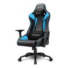 Sharkoon ELBRUS 3 Sedia per gaming universale Seduta imbottita Nero, Blu