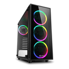 Sharkoon TG4 RGB Mid Tower - Ex Demo, solo 1 pezzo disponibile