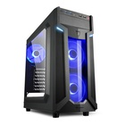 Sharkoon VG6-W ATX Midi Tower Blue