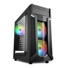 Sharkoon VG6-W RGB ATX Midi Tower Nero