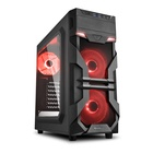 Sharkoon VG7-W LED Rosso ATX Mid Tower