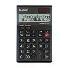 Sharp EL-144T Calcolatrice finanziaria Nero