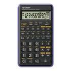 Sharp EL-501T Calcolatrice scientifica Nero, Porpora