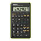 Sharp EL-501T Calcolatrice scientifica Nero, Verde