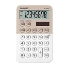 Sharp EL-760R Calcolatrice finanziaria Beige, Bianco