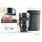 Sigma 50mm f/1.4 DG HSM Art Sony E-Mount Usato