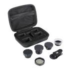 SIRUI Kit Box Obiettivi (Black Wide, Portrait, Macro, Fisheye, e Circular Polarizer)