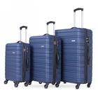 Smartway BAG-KITA9373 Set di valigie Blu Acrilonitrile butadiene stirene (ABS), Poliestere
