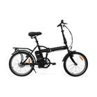 """Smartway bici elettrica F2 Nero acciao 20"""" con batteria Ioni di Litio"""