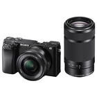 Sony Alpha 6100 + SEL-P 16-50mm f/3.5-5.6 + SEL 55-210mm f/4.5-6.3 OSS